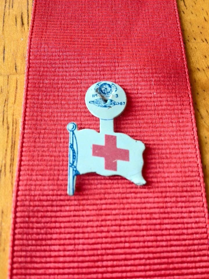 American Red Cross Financial Development Pin