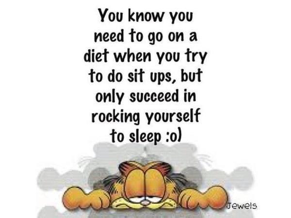 Garfield :) hmmm.... I do have days like that!!!