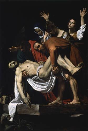 Deposition from the Cross, ca. 1600-04  Michelangelo Merisi da Caravaggio