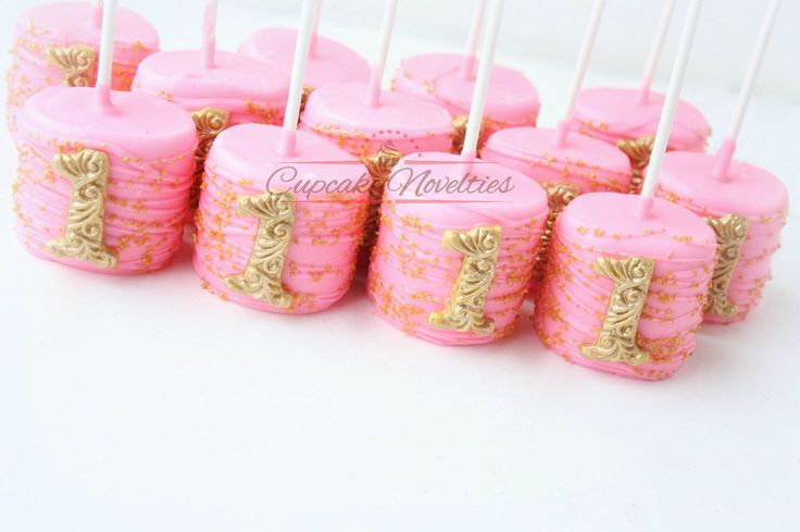 Pink and Gold First Birthday Pink Gold Birthday Favors Princess Birthday First Birthday Cookies Pink Gold Cookies First Birthday Decoration by CupcakeNovelties on Etsy https://www.etsy.com/listing/504507726/pink-and-gold-first-birthday-pink-gold