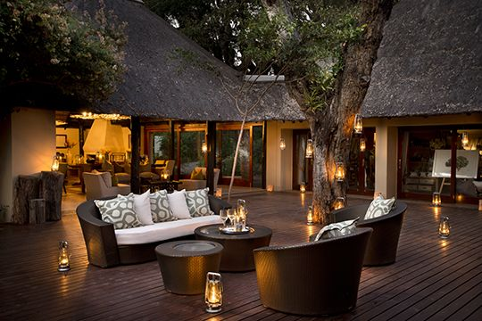 Gorgeous sites at Lion Sands Game Reserve. #Luxury #Design #Home #Deco Book with us at www.mtbeds.co.za