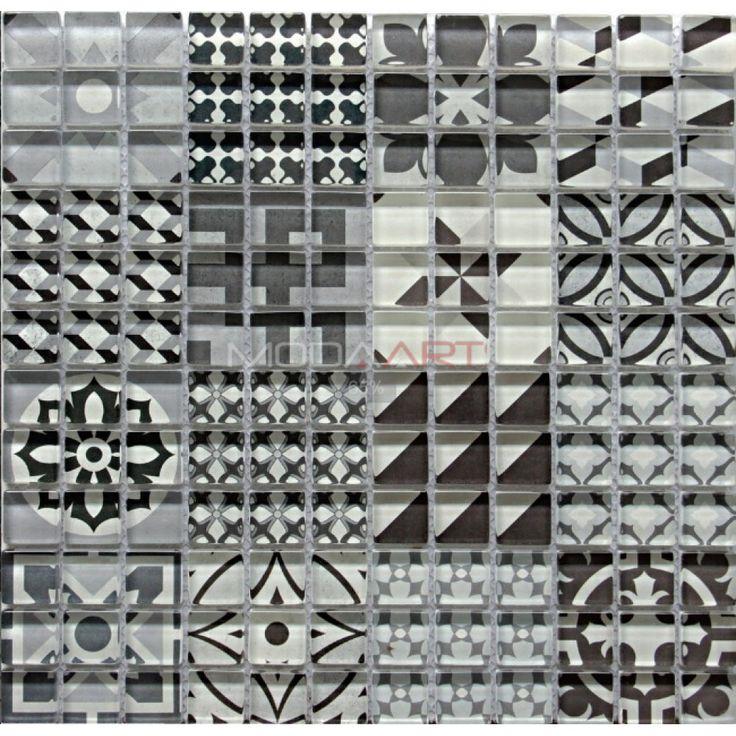 Casual 10 Modaarts Mosaic  Kristal Cam Mozaikler