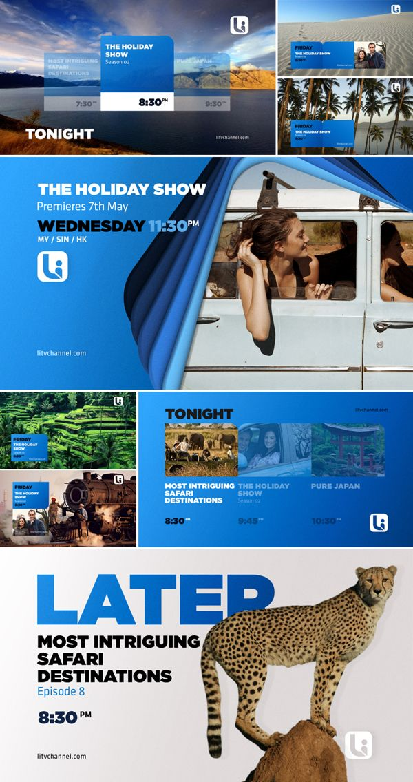 LI TV RE-PITCH 2014 on Behance