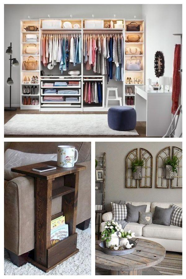 Ordnung Im Schlafzimmer Und Kleiderschrank Mit Ikea Bedroom