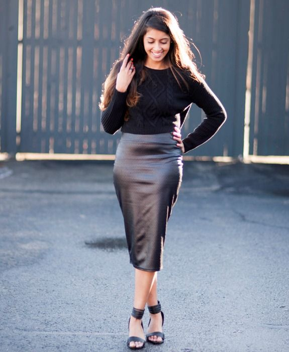 209 best Leather skirt images on Pinterest