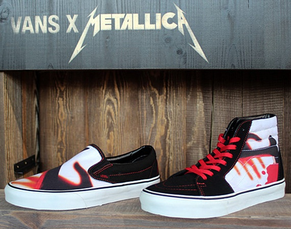Metalica x VANS Kill Em All Pack \m/: Music, Style, Vans Metallica Kill Em All, Classic Kill, Vans Classic, Pack, Ems