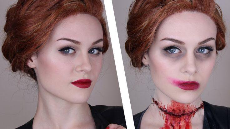 Supernatural: Abaddon Makeup Tutorial