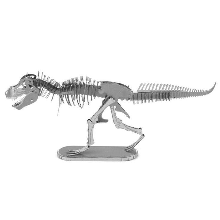 3D Metal Puzzle - Tyrannosaurus Rex Skeleton - Pick Pay Post