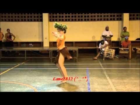 ★ MOENA M à RAIATEA ★ (Best Wonderful Dancer of Ote'a Vahine of Ori Tahiti) - YouTube