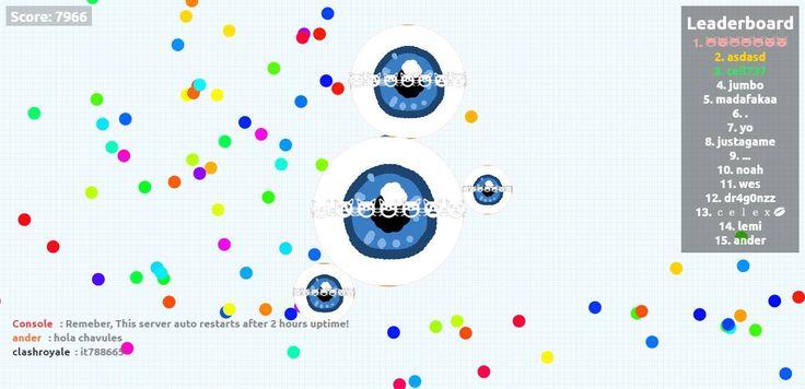 I Playing agariofun.com