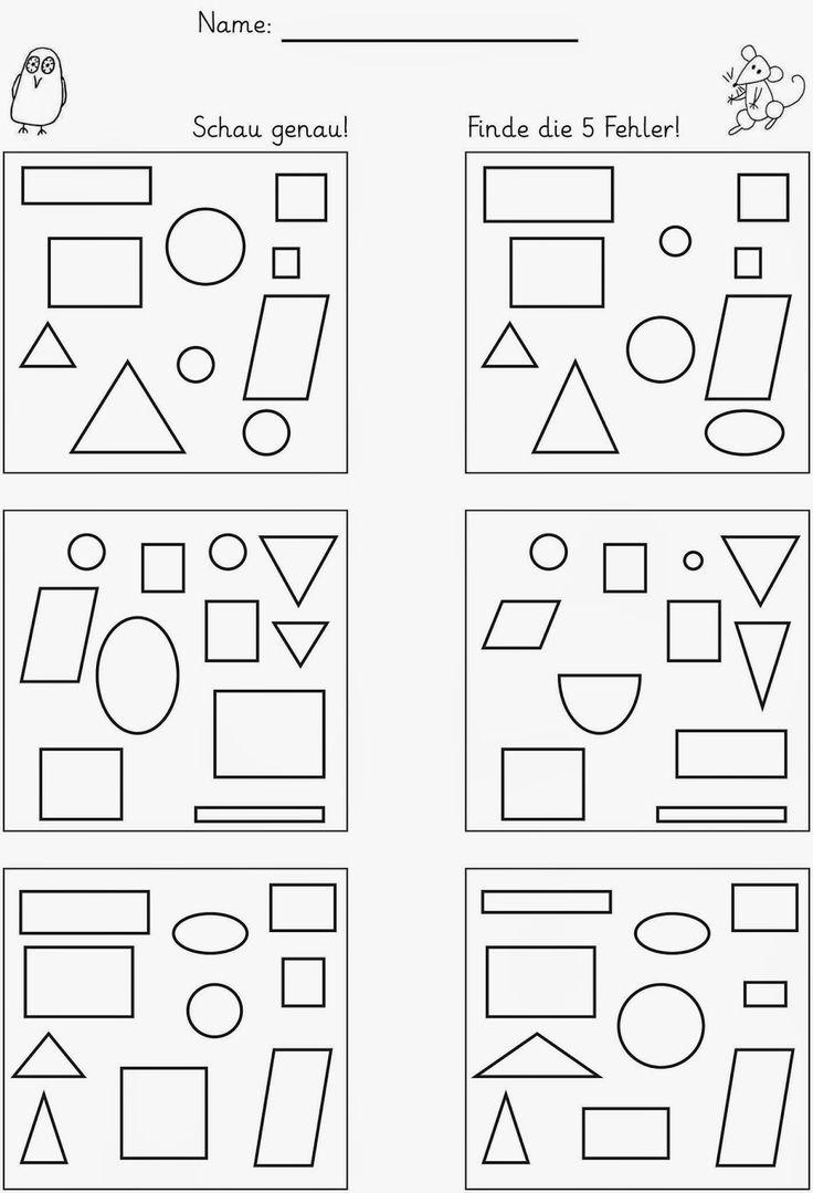 die 25 besten ideen zu kindergarten formen auf pinterest. Black Bedroom Furniture Sets. Home Design Ideas