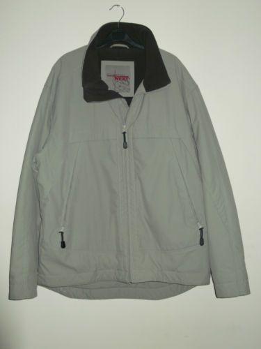 Next Outerwear Men's XL Grey Fleece Jacket Coat