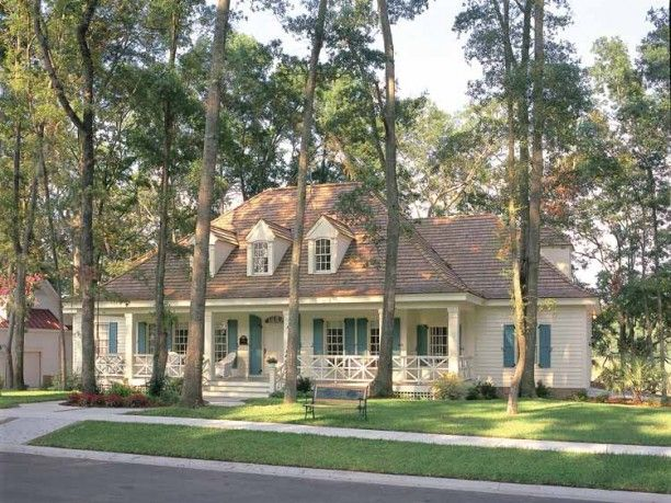 Eplans Farmhouse House Plan - Bayou Cottage - 3102 Square Feet and 4 Bedrooms(s) from Eplans - House Plan Code HWEPL09155