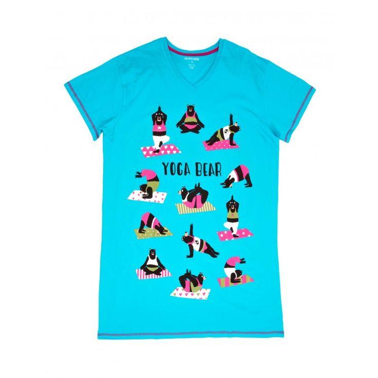 Yoga Bear Night Shirt