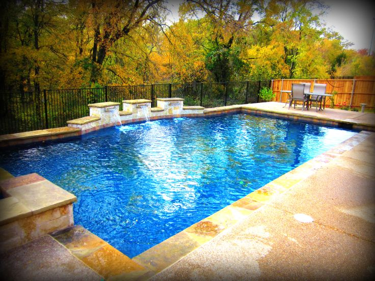 1000 images about geometric pool designs by puryear for Custom swimming pool designs