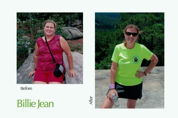 Billie Jean Weight Transformation - 5 Women Share the Tricks That Motivated Their Weight Loss - #ReImagineDieting Sign up for more weight loss stories like this at fullplateliving.org