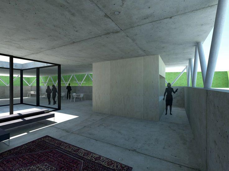 Interior sunken extension