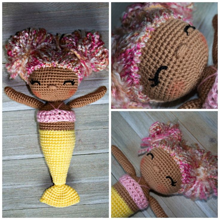 It is safe to say that I have fallen in love with crochet dolls. The combinations and ability to personalize is my favorite thing! These a...
