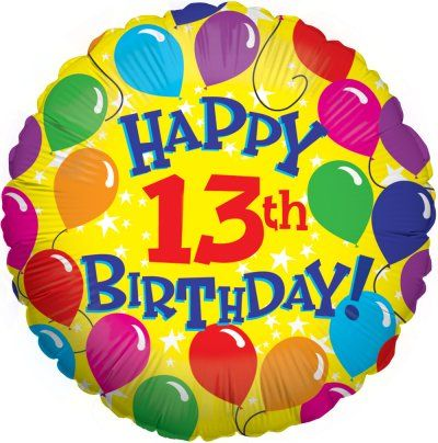 Happy 13th Birthday – Birthday Wishes, Cards, Messages, Lines And Greetings