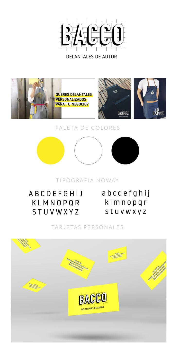 Estudio presente para Bacco  Diseño grafico Cordoba Argentina