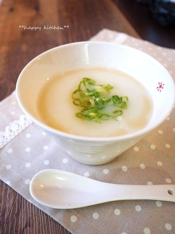 お腹に優しい!5分で出来るミルク中華粥 by たっきーママ | レシピサイト「Nadia | ナディア」プロの料理を無料で検索