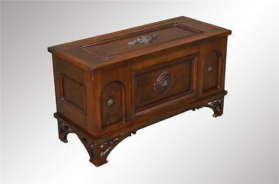 16930-Antique-Victorian-Walnut-Custom-Blanket-Box