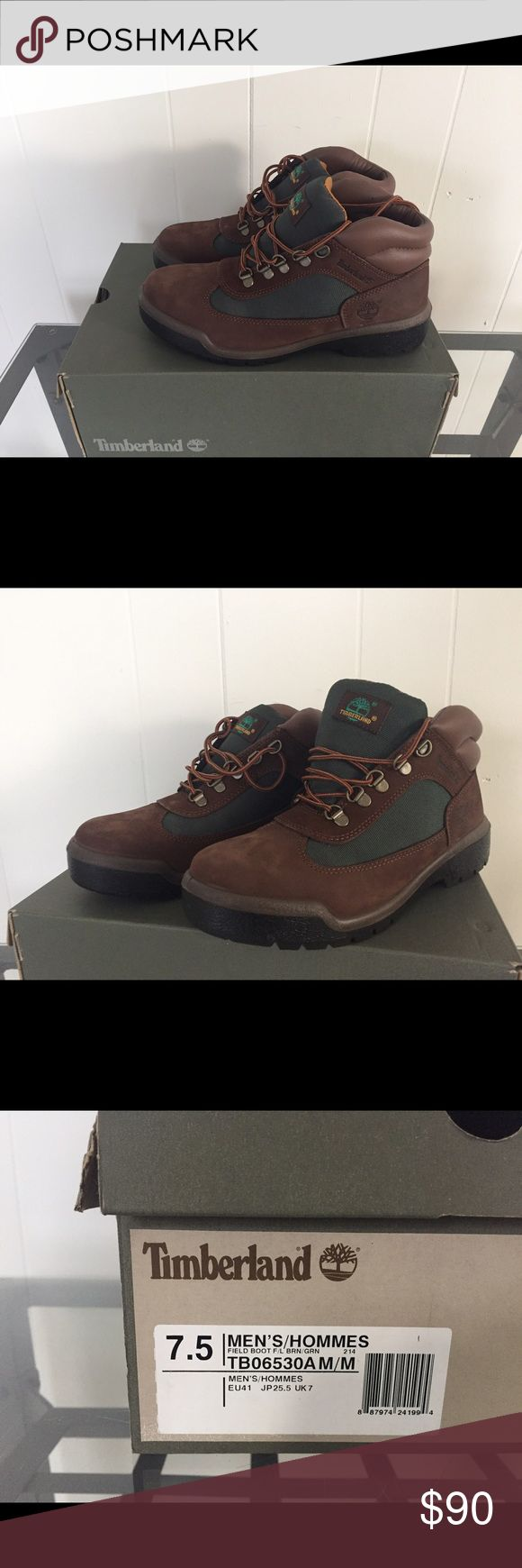 Timberland Field Boots brand new in box size 7.5 Selling brand new in box men's Timberland Field Boots in a size 7.5. Never worn only tried on Timberland Shoes Boots