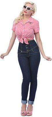 1950's Style Pants: Capri, Crop, Cigarette Pants
