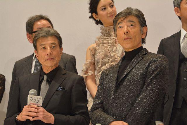 左から舘ひろし、柴田恭兵。