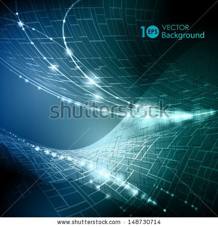 Dynamic light lines background free vector download (48,366