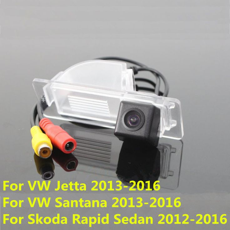 CCD Car Rear View Reverse Backup Camera For Volkswagen VW Jetta Santana Skoda Rapid Sedan 2012 2013 2014 2015 2016 Night Vision #Affiliate