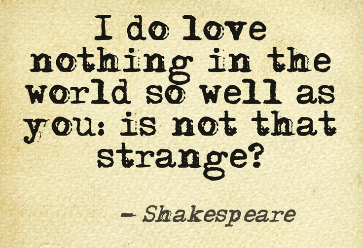 Much Ado About Nothing. Shakespeare