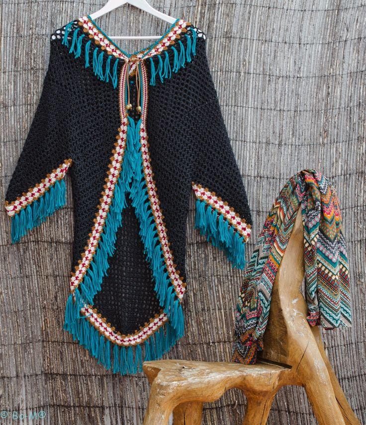 Bo-M: Handmade crochet yarn with merino.