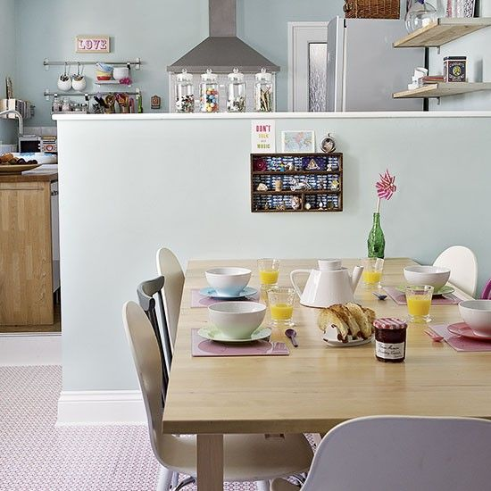 Kitsch Pastel Kitchen Diner
