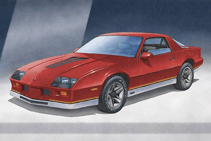 Here Is The 1982 To 1984 Camaro Z28 Art Print  Available
