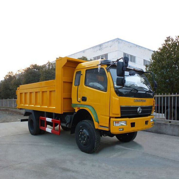 Dongfeng 4x4 Off Road 3 Ton Rear Loader Type Mini Dumper Dump Truck