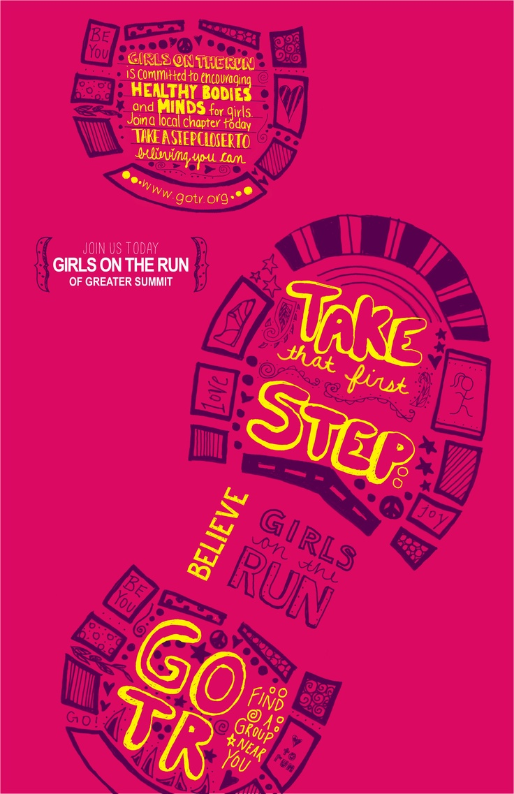 Poster design lesson plan - My Final Girls On The Run Poster Design