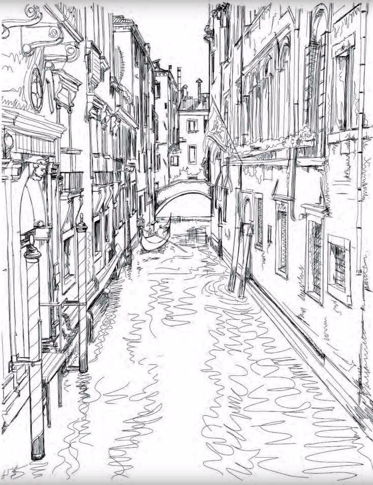 Картинки антистресс города италии прическа