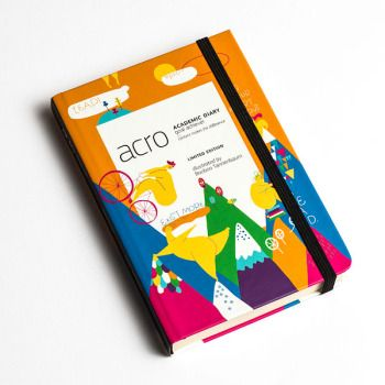 SOLD OUT Acro Creative  finally a diary that doesn't start from January