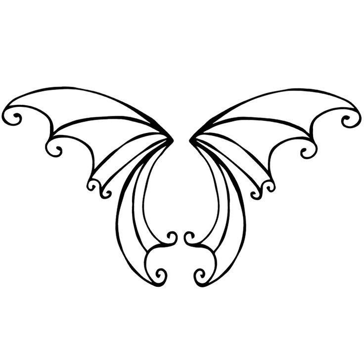 Wings Temporary Tattoos #695
