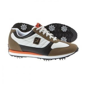 SALE - Footjoy Street Light Golf Cleats Mens Brown - Was $104.99 - SAVE $15.00. BUY Now - ONLY $89.99