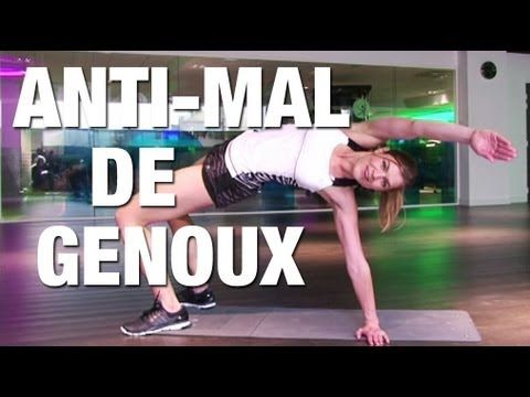 Fitness Master Class - Fitness spécial anti-mal de genoux - YouTube