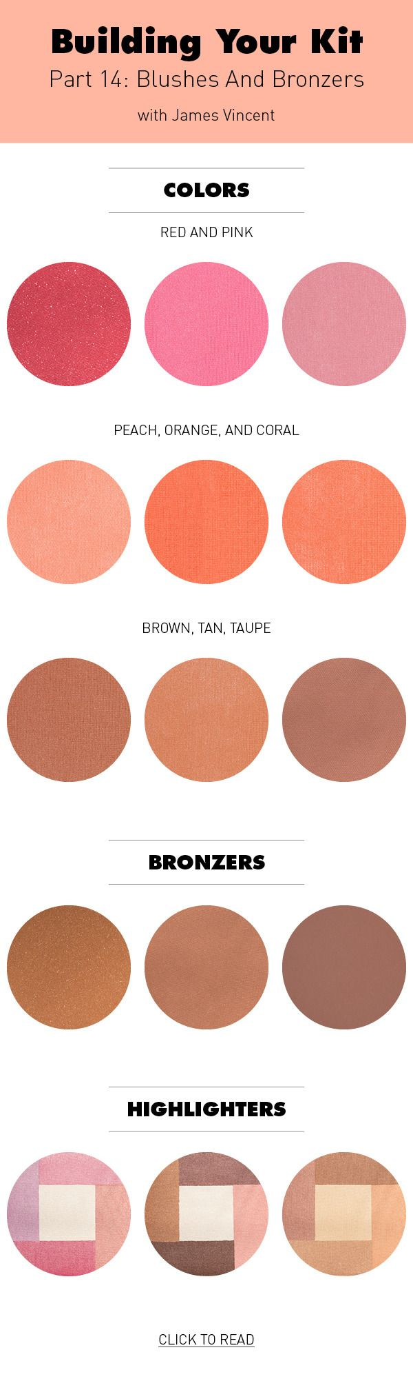 Building Your Kit Part 14: How To Pick Blushes And Bronzers ...my latest piece for Beautylish