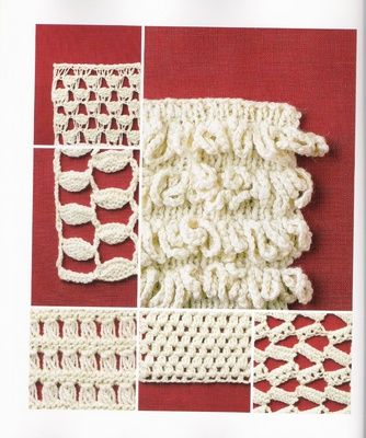 ... knitting crochet style faux crochet knit work forward reversible