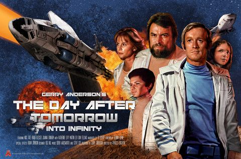 Into Infinity Poster by Eric Chu – Gerry Anderson Official