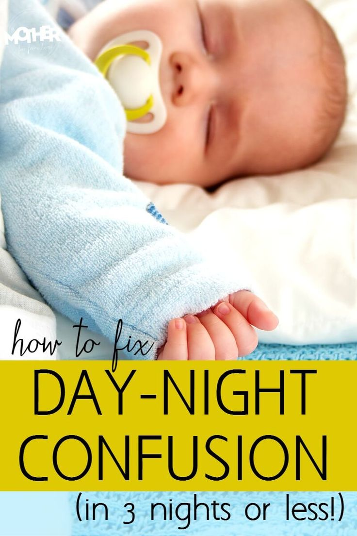 Does your newborn have their days and nights mixed up? Never fear, here's how…