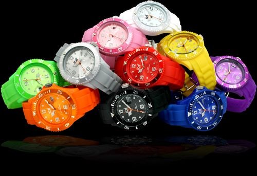 ice watches...i want one in every color. my new must get!
