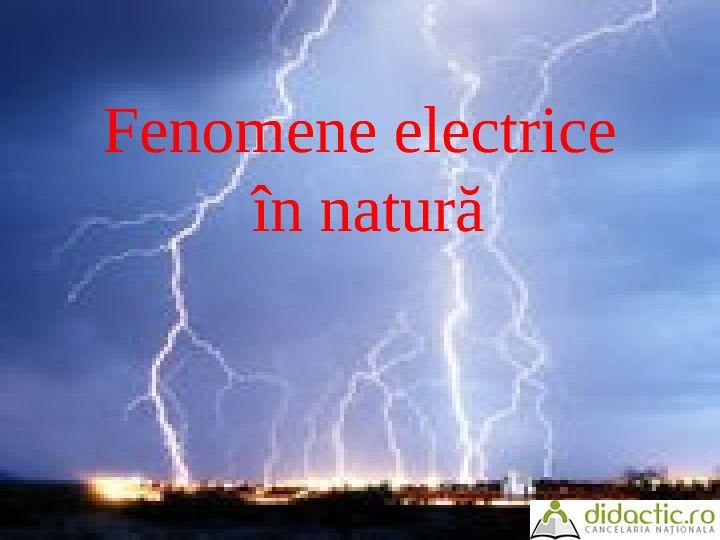Fenomene electrice in natura   clubjimbolia   31.08.2007