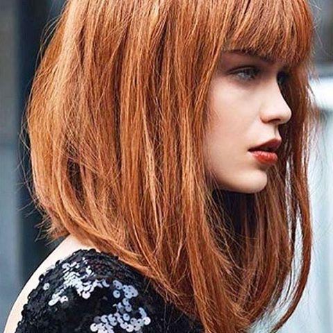 А вам нравится рыжий цвет волос?