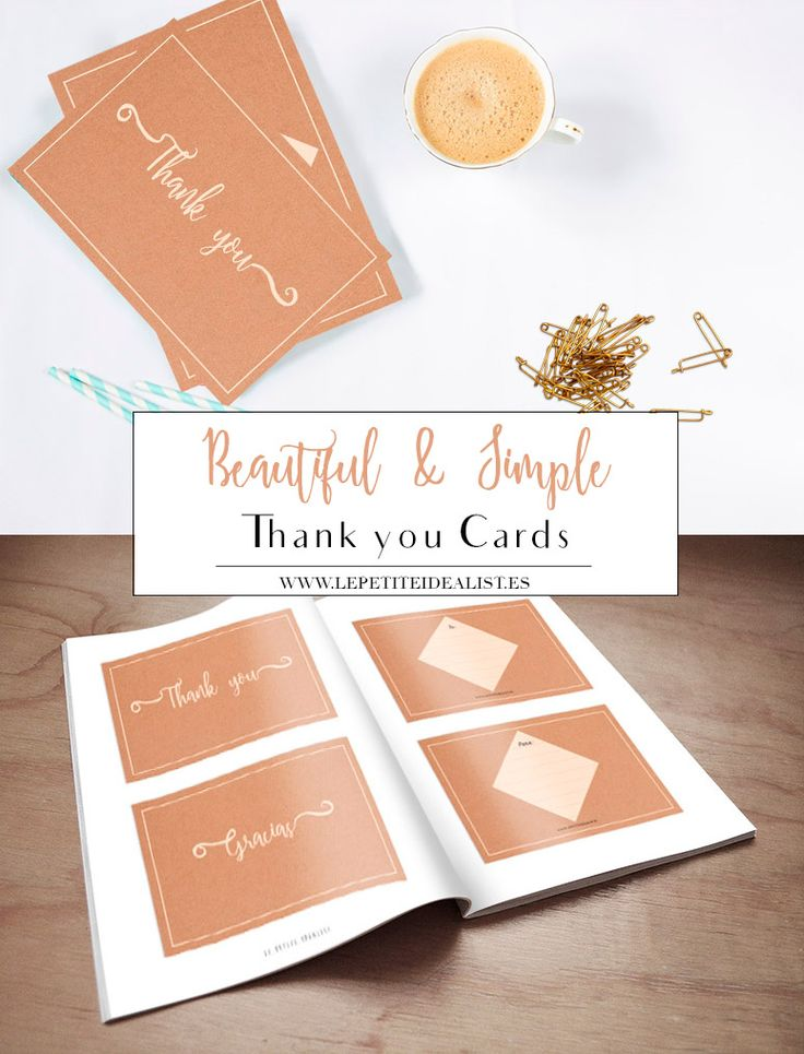 To thank your loved ones is such a beautiful thing to do. ¡Grab this thank you cards and be joyful! ¡I'll thank you!